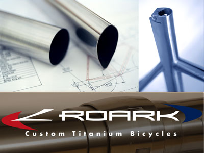 Custom Titanium Bicycle Tubing